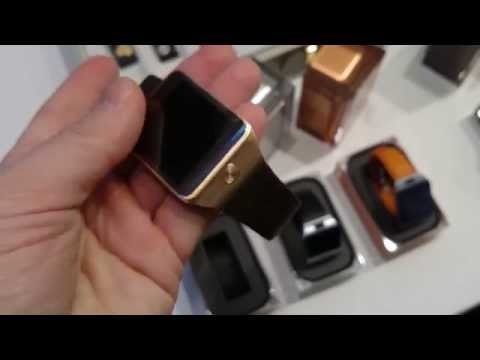 Samsung Galaxy Gear 2 Hands On Review @ Mobile World Congress 2014 | Mashable