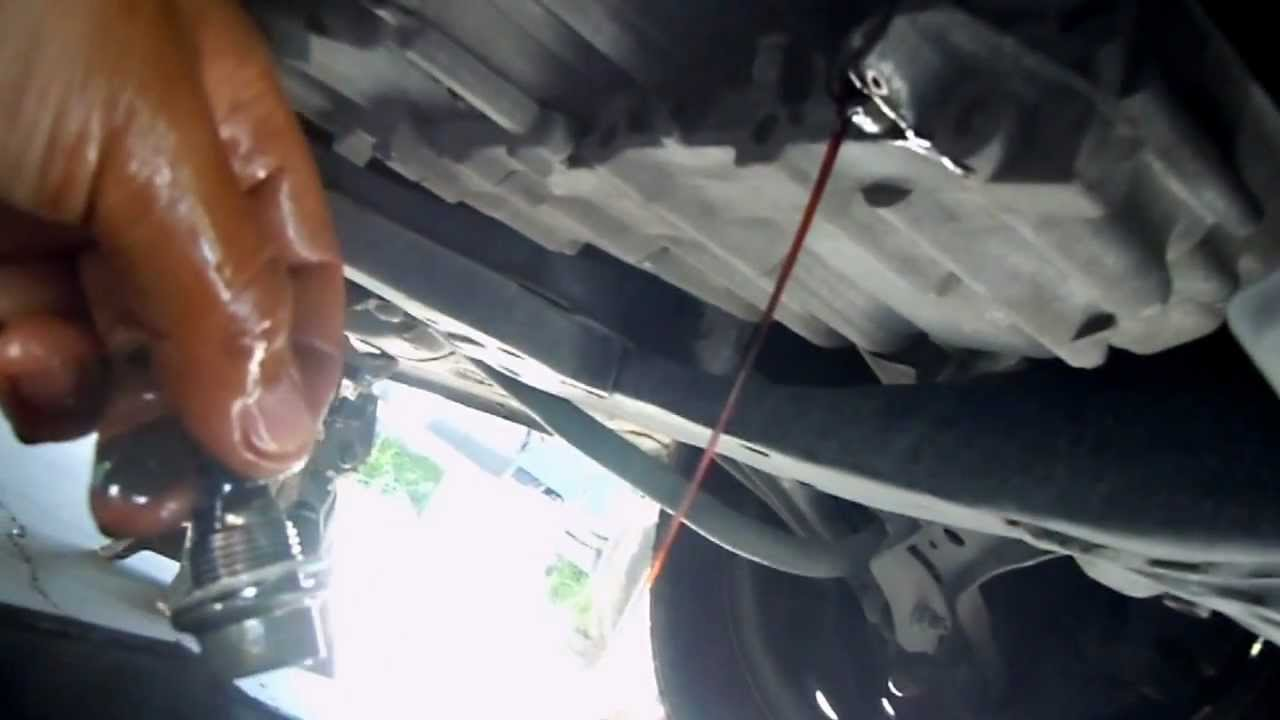 2008 Honda Civic Auto Transmission Oil Change 8th