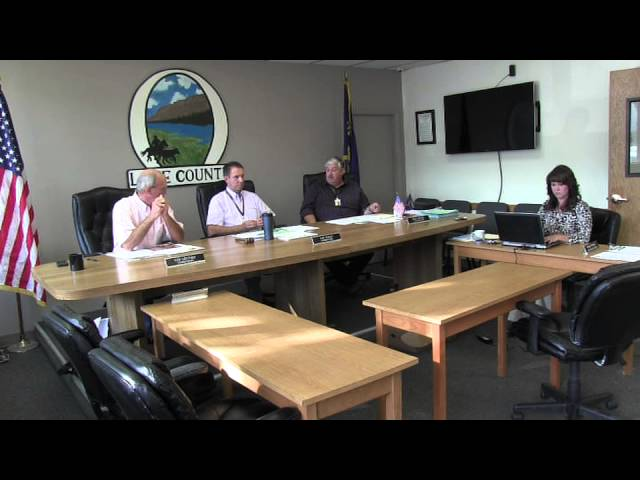 Lake County Commissioners meeting 9-23-2014 Pt. 1