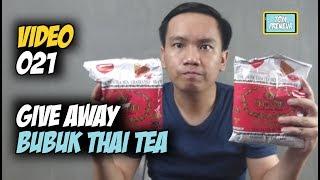 Give Away Bubuk Thai Tea