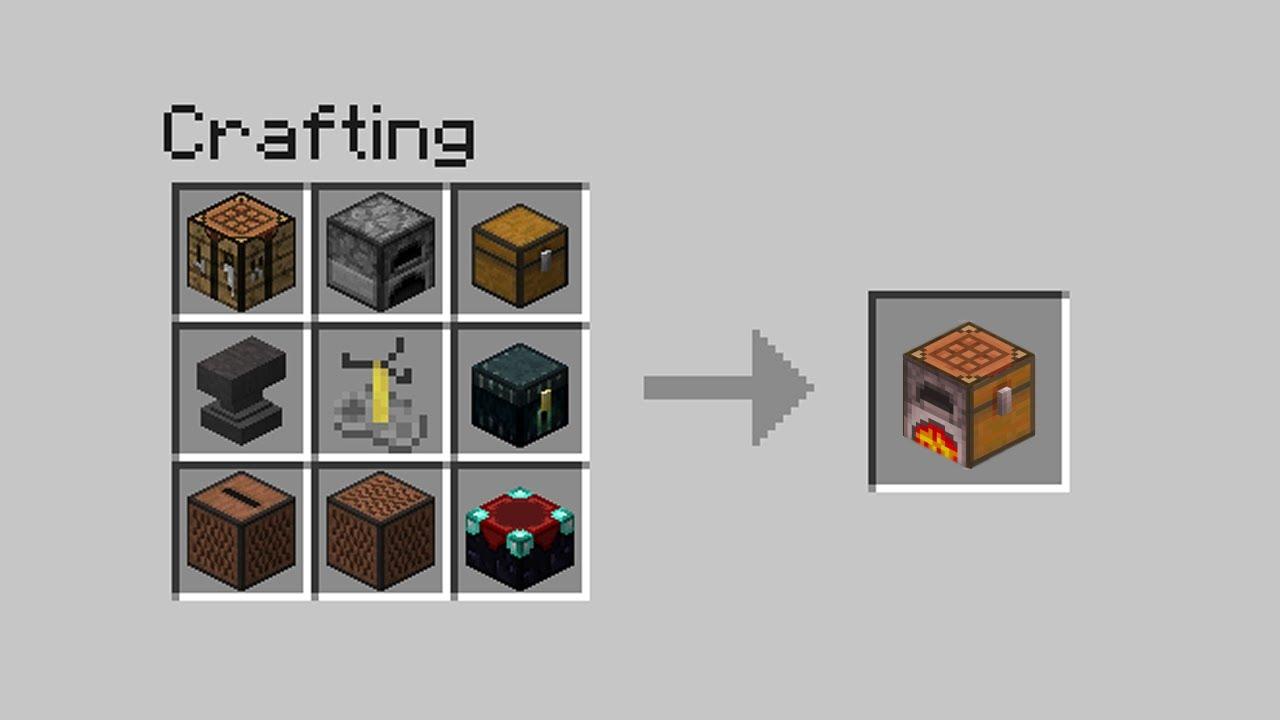 Minecraft Crafting Ideas 3 Youtube