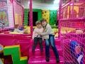 ВЛОГ Детский развлекательный центр Горки батуты бассейн с кубиками Kid S Intertainment Center mp3