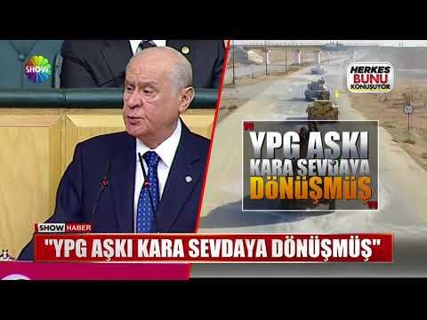 """Bahçeli: """"YPG aşkı kara sevdaya dönüşmüş"""""""