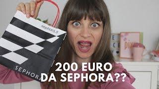 200 EURO DA SEPHORA!! NE è VALSA LA PENA?