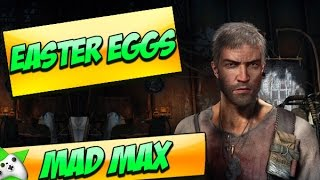 MAD MAX EASTER EGGS - SHADOW OF THE COLOSSUS EASTER EGG!