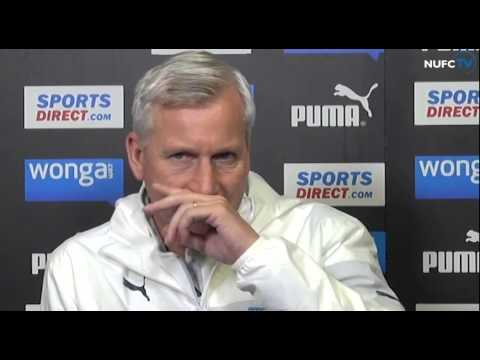 Alan Pardew looks ahead to Newcastle v Chelsea