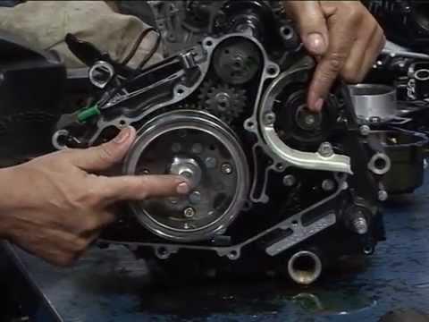 Gustavo Morea describe el motor Bajaj Rouser 200 NS - Parte 4