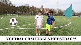 VOETBAL CHALLENGES MET STRAF!? | Vincent Visser
