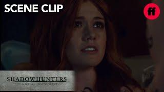Shadowhunters | Season 2 Episode 17: Jace Comforts Clary | Freeform