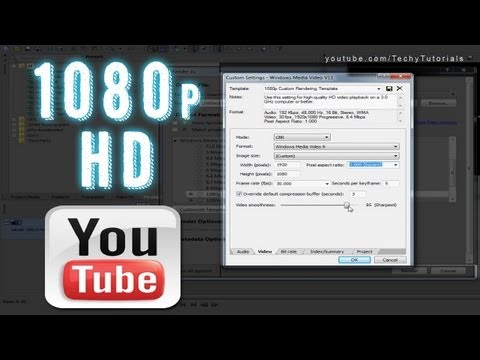 Sony Vegas Pro 11   Render in 1080p . Optimized for YouTube