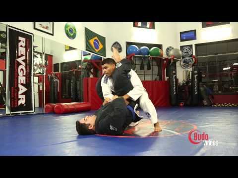 Harold Lucambio Technique: Triangle Defense to Side Control Neck Crank Image 1