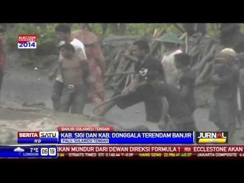 Banjir Melanda Sejumlah Wilayah di Palu