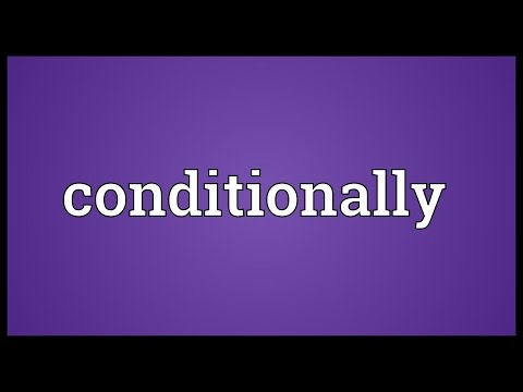Header of conditionally