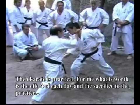 Okinawa Karate Shorin Ryu Kyudokan - Oscar Higa Sensei Interview- Part 2 of 4 (English subtitles)