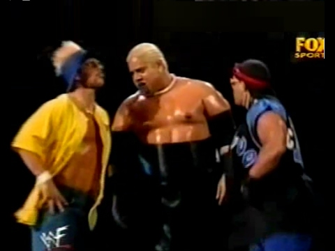 Rikishi (Too Cool) (Triple H & Stephanie) VS. Big Show (Shane) - WWF Smackdown! 3/16/00 thumbnail