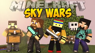 Minecraft SkyWars #6 - НЕВЕРОЯТНАЯ БИТВА КОМАНД