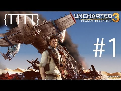 Uncharted 3: Drake's Deception: Walkthrough - Chapter 1 [HD] {Let's Play} (PS3) [Hard Difficulty]