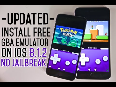 How To Install GBA Emulator & Games FREE on iOS 8.1.2 & 8.1.1 - GBA4iOS NO Jailbreak