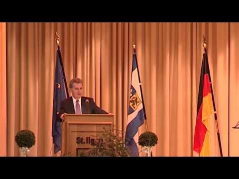 CDU Leimen - Neujahrsempfang mit EU-Kommissar Günther Oettinger