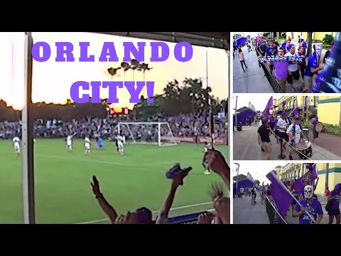 Orlando City Soccer Club - Fans eye view of 3-0 win over LA Galaxy 06/28/14