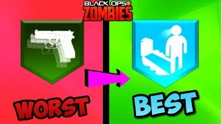 RANKING EVERY PERK IN BLACK OPS 4 ZOMBIES FROM WORST TO BEST!