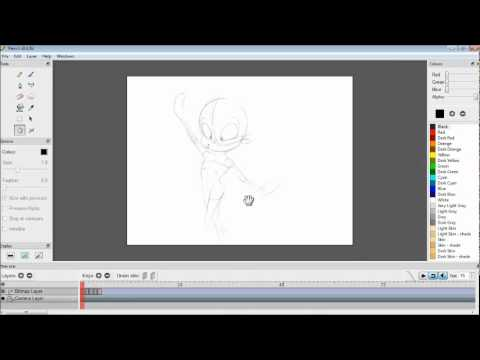 How I Animate with Scanned Drawings in Pencil 2D Part 2.wmv