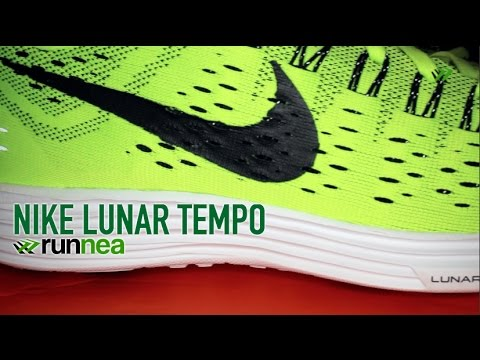 Nike Lunar Tempo, running review unboxing