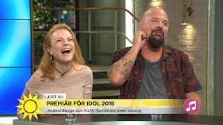 """Vi har haft superkul!"" Nu drar Idol 2018 igång - Nyhetsmorgon (TV4)"