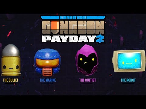 How to get the Enter The Gungeon Masks (Payday 2 - Guides)