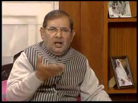 JD(U) Chief Sharad Yadav on Bihar political crisis