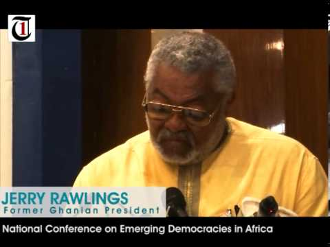 Jerry Rawlings flaws African Leaders, mocks Nigerian Leadership