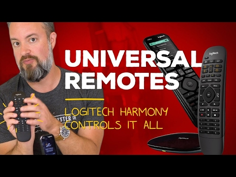 Finally — Universal remotes that don't suck!!!