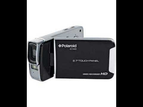Polaroid ID1440 Hi-Def 1080p Camcorder Unboxing and Test