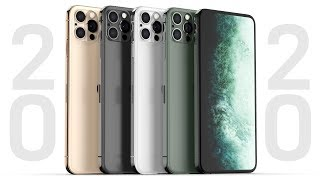2020 iPhone Leaks Have Begun! New Design, No Notch, Glowing Logo!?
