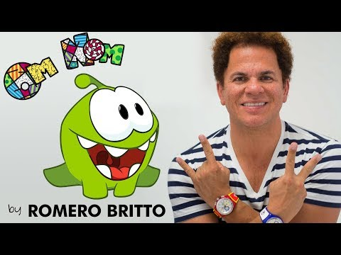Om Nom by Romero Britto  -  Part 1