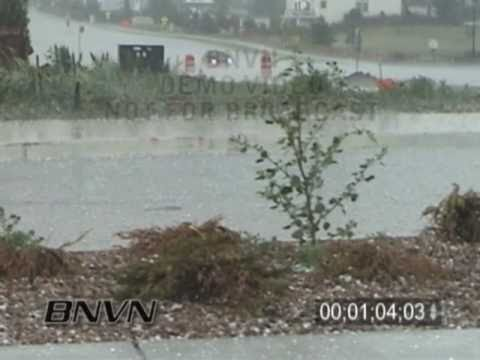 6/9/2004 Littleton Colorado Hail Storm Video