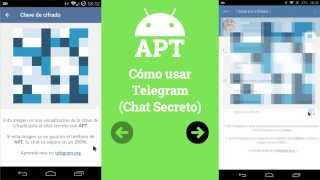 Cómo usar Telegram (Chat secreto) - [AndroidParaTorpes]