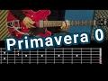"""Cómo tocar """"Primavera 0"""" de """"Soda Stereo"""" en Guitarra"""
