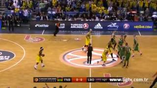 Turkish Airlines Euroligue Final Four Mücadelesi Fenerbahçe Ülker 88-77 Laboral Kutxa