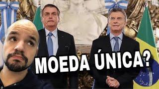 Bolsonaro na Argentina! Peso-real moeda única?! | Ricardo Marcílio