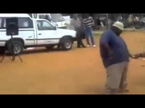 Fat dude dancing to young dro f.d.b