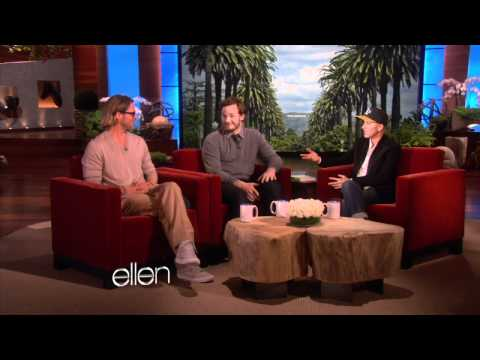 Chris Pratt Meets Ellen