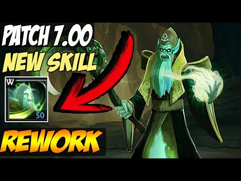 Patch 7.00: Necrophos Reworked, New skill and Aghanim effect changed!