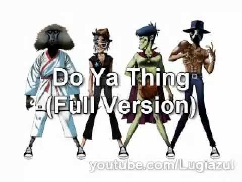 Gorillaz - Do Ya Thing (Full Version) feat. James Murphy&Andre 3000 + Download