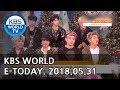 KBS WORLD E TODAY ENG 2018 05 31 mp3