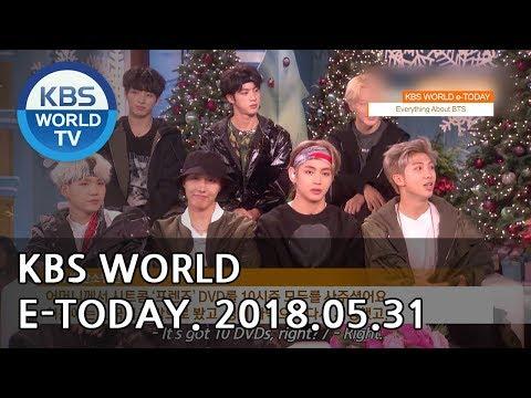KBS WORLD e-TODAY [ENG/2018.05.31]