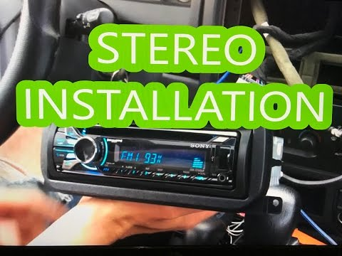 Jeep Grand Cherokee '99-'04 stereo/deck/radio install