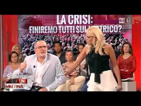 Eleonora Daniele, Storie Vere puntata del 12/09/2013 – crisi economica