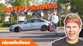 Pranks met de auto van Royalistiq! 😂 | De Viral Fabriek | Nickelodeon Nederlands