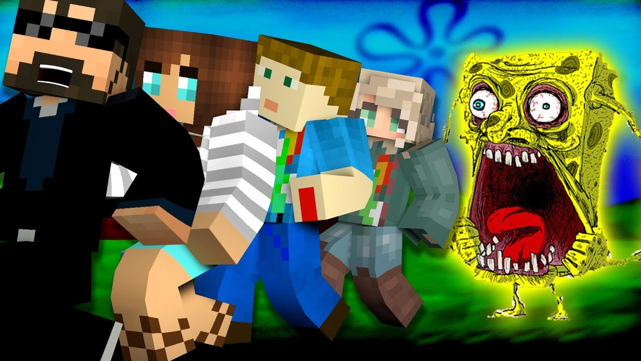 Minecraft: SPONGEBOB MURDER | MODDED MINI-GAME